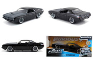 Plymouth Barracuda Lettys Fast & Furious 7 1/24 Scale Diecast Car Model By Jada 97195
