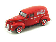 1940 Ford Sedan Delivery Red Coke Coca Cola 1/24 Scale Diecast Car Model By Motor City Classics 365913