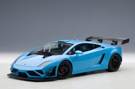Lamborghini Gallardo GT3 FL2 2013 Blue 1/18 Scale Diecast Car Model By AUTOart 81359