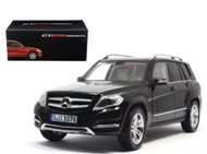 2013 Mercedes Benz GLK Class SUV Black 1/18 Scale Diecast  Model By Welly GT Autos 11008