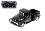 1956 Ford F-100 Pickup Truck Black 1/24 Scale Diecast Model By Motor Max 73235