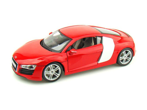 Audi R8 Red 1/18 Scale Diecast Car Model By Maisto Premiere 36143