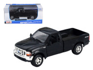 1999 Ford F-350 Super Duty Pickup 4x4 Black 1/27 Scale Diecast Model By Maisto 31937