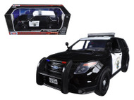 2015 Ford Interceptor Utility CHP Police 1/18 Scale Diecast Car Model By Motor Max 73544