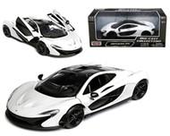McLaren P1 White 1/24 Scale Diecast Car Model By Motor Max 79325