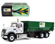 Waste Management Mack Roll Off Garbage Truck With Dumpster Tub 1/34 Scale By First Gear 10 4050
