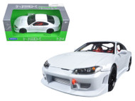 Nissan S-15 S15 RHD White 1/24 Scale Diecast Car Model By Welly 22485