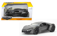 Jada 1/24 Scale Lykan Hypersport Primer Grey Diecast Car Model 98075