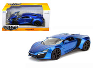 Jada 1/24 Scale Lykan Hypersport Metallic Blue Diecast Car Model 98076