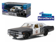 1974 Dodge Monaco BluesMobile Blues Brothers 1/24 Scale Diecast Car Model By Greenlight 84011