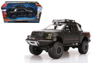 2017 Ford F-150 Raptor Black Truck 1/24 Diecast Car Model Off Road Kings By Maisto 32521