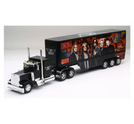 Newray 1/32 Scale Peterbilt 379 Aerosmith Rock Band Semi Truck & Trailer 12533
