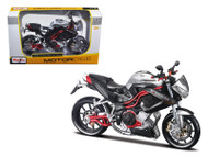 Benelli Tornado Naked Tre Titanium Motorcycle 1/12 Scale Diecast Model By Maisto 31179