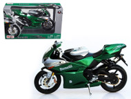 Benelli Tornado Tre 1130 Green & Silver Motorcycle 1/12 Scale Diecast Model By Maisto 31156