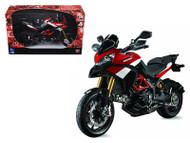 Ducati Multistrada 1200 S Pikes Peak Motorcycle 1/12 Scale Diecast Model Ny NewRay 57533