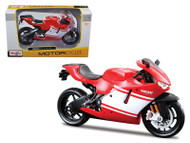 Ducati Desmosedici RR Red Motorcycle Red & White 1/12 Scale Diecast Model By Maisto 31190