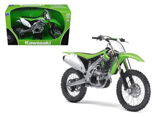 2012 Kawasaki KX 450F Dirt Bike Motorcycle 1/12 Scale Model By NewRay 57483