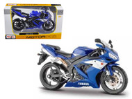 2004 Yamaha YZF-R1 Blue Bike 1/12 Scale Motorcycle By Maisto 31102