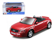 Audi TT Roadster Red 1/24 Scale Diecast Car Model By Maisto 31978