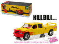 1997 Chevy C-2500 Silverado Pussy Wagon Kill Bill 1/18 Scale Diecast Car Model By Greenlight 19015