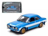 Brians 1974 Ford Escort RS2000 MK 1 The Fast and The Furious Movie 1/43 Scale Diecast Car Model By Greenlight 86222
