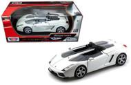 Lamborghini Concept S Pearl White 1/18 Scale Diecast Car Model By Motor Max 79156