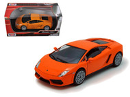Lamborghini Gallardo LP-560-4 Orange 1/24 Scale Diecast Car Model By Motor Max 73362