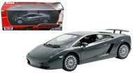 Lamborghini Gallardo Superleggera Grey 1/24 Scale Diecast Car Model By Motor Max 73346