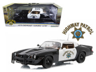 1979 Chevrolet Camaro Z/28 California Highway Patrol Hardtop CHP 1/18 Scale Diecast Car Model By Greenlight 12964
