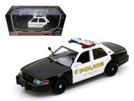 2010 Ford Crown Victoria Police Interceptor City Of San Gabriel Police 1/24 Scale Diecast Car Model By Motor Max 76937