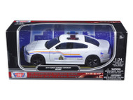 2014 Dodge Charger Enforcer RCMP Canadian Police Car 1/24 Scale By Motor Max 76945