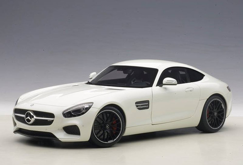 Mercedes Benz AMG GT S White 1/18 Scale Diecast Car Model By AUTOart 76311