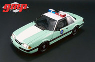1988 Ford Mustang US Border Patrol SSP Limted To 528 Pieces 1/18 Scale By GMP 18845