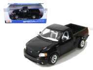 Ford F-150 SVT Lightning Truck Black 1/21 Scale Diecast Model By Maisto 31141