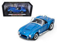 1966 Shelby Cobra Super Snake Blue 1/18 Scale Diecast Car Model By Shelby Collectibles SC 125
