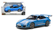 Porsche 911 GT3 RS 4.0 Blue 1/18 Scale Diecast Car Model By Bburago 11036