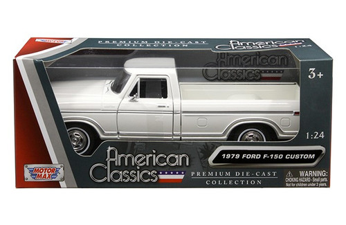 Ford F  Pickup Truck White   Scalecast Model By Motor Max