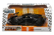 Lykan Hypersport Black 1/24 Scale Diecast Car Model By Jada 99366