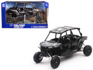 Polaris RZR XP 4 Turbo EPS 4 Seater Titanium Matt Metallic 1/18 Scale Model By Newray 57843 C