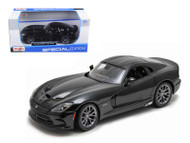2013 Dodge SRT Viper GTS Black 1/24 Scale Diecast Car Model By Maisto 31271