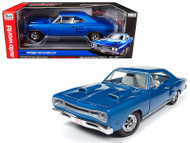 1969 Dodge Coronet R/T Hardtop 50th Anniversary 1/18 Scale Diecast Car Model By Auto World AMM1116