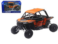 Polaris RZR XP1000 Dune Buggy 4 Wheel ATV Orange 1/18 Scale By Newray 57823