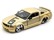 2006 Ford Mustang GT Gold 1/24 Scale Diecast Car Model By Maisto 31324