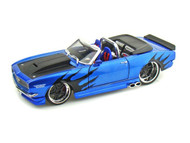 1968 Chevrolet  Camaro SS396 Convertible Blue 1/24 Scale Diecast Car Model By Maisto 31089