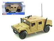 Hummer Military Humvee Sand 1/27 Scale Diecast Truck Model By Maisto 31974