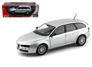 Alfa Romeo 159 SW Silver 1/18 Scale Diecast Car Model By Motor Max 79166