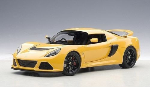 Lotus Exige S Yellow 1/18 Scale Diecast Car Model By AUTOart 75382