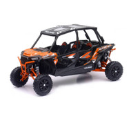 Polaris RZR XP 4 Turbo EPS 4 Seater Orange 1/18 Scale Model By Newray 57843 A
