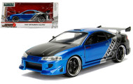 1995 Mitsubishi Eclipse JDM Tuners 1/24 Scale Diecast Car Model By Jada 99103