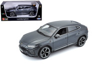 Lamborghini Urus SUV Gre 1/18 Scale Diecast Car Model By Bburago 11042